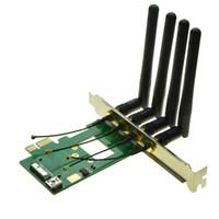 компьютерный модуль wifi оптовых-Компьютер беспроводной сетевой адаптер PCI-e для 3G bluetooth 4.0 WIFI BCM94360CD / BCM94331CD модуль для macbook Pro/Air