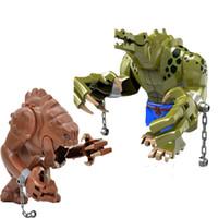 ingrosso bloccare giocattoli animali-1 Pz Rancor Jabba Dewback Blocchi Compatibile Legoingly Animale Selvatico Figura Set Building Blocks Mattoni FAI DA TE Giocattoli Educativi per Bambini