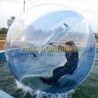 пвх водные шары оптовых-Вода Zorb мяч коммерческий ПВХ Хомяк воды ходьба шары надувные бассейн игры 5 футов 7 футов 8 футов 10 футов Бесплатная доставка
