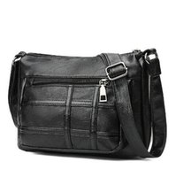 Wholesale models si online - 2018 European and American style fashion square middle aged Mummy bag foreign trade explosion models new trend temperament diagonal small si