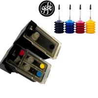 бесплатные цветные принтеры оптовых-Набор для заправки чернил для Canon Pixma 2545S MG 2540 MG2440 принтер многоразового использования картридж PG 445 CL 446 , бесплатно получить 4 цвета