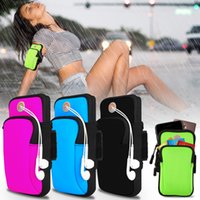 Wholesale iphone 4 cases online - Sports Armband Case for iphone Cover Running Jogging Arm Band Pouch Holder Bag for inch Universal For Phones Xiaomi Huawe Samsung