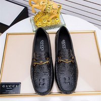 Wholesale mens driving moccasins leather for sale - Group buy Luxury Men s Shoes Brand Genuine Leather Casual Driving Oxfords Flats Shoes Mens Loafers Moccasins Italian Men Driving Shoes EU38