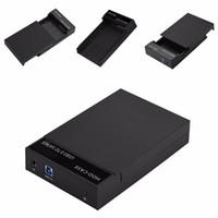 sabit disk kutuları toptan satış-Freeshipping USB3.0 Sata 2.5