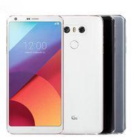 yenilenmiş lg toptan satış-Orijinal LG G6 VS988 H873 H871 5.7 inç Dört Çekirdekli 4 GB / 32 GB 13MP Çift Kamera 4G LTE Yenilenmiş Unlocked Telefonlar