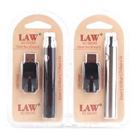 Wholesale variable pen for sale - Group buy LAW VV Vape Pen mah Battery With USB Charger Variable Voltage Battery Thread Battery Starter Kits Blister Pack