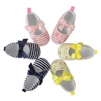 Shop hot pink flower girl shoes uk hot pink flower girl shoes free first walkers newborn 0 18m summer hot sale baby girl cute flower princess shoes infant kinds stripes casual toddler shoes mightylinksfo