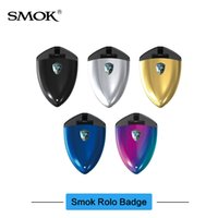 Wholesale Max Building - Original SMOK Rolo Badge Full Starter Kit with 250mAh Built-in Battery 2ml Cartridge Pod Max 16W Output
