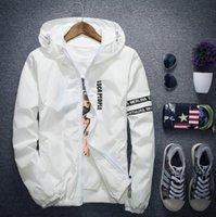 coreano moda masculina jaqueta venda por atacado-Moda Jacket Designer Masculina Casual Slim Jaqueta Masculina Coreana 2018 Outono Masculina Jacket Tendência Mens Jaquetas