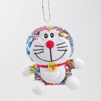Wholesale anime doraemon - Top New quot CM Doraemon Limited Edition W Plush Doll Anime Dolls Pendants Keychains Stuffed Party Gifts Soft Toys