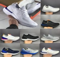 Wholesale red tens - 2018 Top Quality New Ten Colors Epic React Women Men causal Shoes Fashion Instant Go Fly Breathable Comfortable Sports Sneaker Boost Cheap