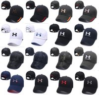 Wholesale sexy baseball - Brand UA Snapback Baseball Ball Cap Under Hat Sports Hip hop Caps Camouflage Camo Adjustable Hats Armor Men Women Casquette Unisex Caps