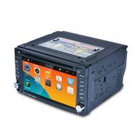 "Wholesale auto radio antennas - 6.2"" Touch Screen 2 din Auto Radio 1080P Car DVD Player Multimedia Player With GPS Navigator Support MirrorLink"