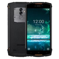 Wholesale doogee phone online - Doogee S55 Octacore GB RAM GB ROM Android Waterproof Wireless Charge Quick Charge Dual sim quot Cell phone Smartphone