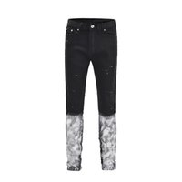 2019 New Mens Cotton Fashion Hip Hop Jeans With Holes Distressed Ankle Zipper Denim Pants Size 29 36 Z93 From Hoeasy, $51.2 | DHgate.Com