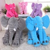 Wholesale soft beds for babies for sale - 33 cm Appease Elephant Pillow Infant Soft Stuffed Animals Elephant Plush Toys Baby Sleep Toys Bed Decoration Plush Toy for Kid
