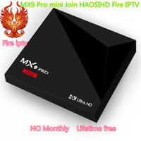 Wholesale Africa Box - lifetime Firetv IPTV 2500+Channel European French Arabic Africa USA 4K Android Smart TV Box RK3328 - Abonnement IPTV and VOD