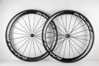 Wholesale shimano DURA ACE C50 carbon wheelset c clincher mm bicycle wheels Glossy for Shimano cassette