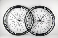 Wholesale wheels carbon clincher - shimano DURA ACE C50 carbon wheelset 700c clincher 50mm bicycle wheels Glossy for Shimano cassette