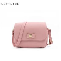 0f1c641134bfa Frauen-Beutel-Bogen-Handtaschen-PU-Leder-Frauen Schulter-Umhängetaschen  Damen-kleine Handtaschen-Geldbeutel-Taschen Bolso rosa Schwarzes