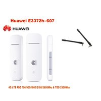 Wholesale 4g Lte Usb Modem - New Original Unlock HUAWEI E3372 E3372h-607 150Mbps 4G LTE USB Modem Dual Antenna Port Support All Band with CRC9antenna