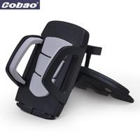 держатель автомобиля movil оптовых-Подставка под слот для автомагнитол Coabao Soporte Movil для мобильного телефона Держатель для iPhone 4S / 5 / 6S плюс Samsung Galaxy S6