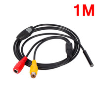 Wholesale camera waterproof 15m for sale - Group buy Freeshipping Mini V AV waterproof level IP66 Endoscope mm Dia Inspection m m m m m Length Soft Cable Camera Borescope Waterproof