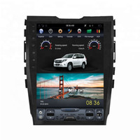 Wholesale antenna c for sale - Group buy Android quot Tesla Vertical screen car dvd radio gps for FORD EDGE navigation multimedia system WIFI A C BT