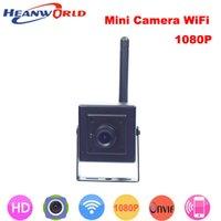 portes de système de sécurité achat en gros de-Date 1080 p mini caméra IP wifi p2p cam Onvif HD sans fil caméras cctv système de sécurité réseau webcam pour la porte de la maison vidéo