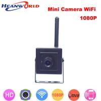 kapı kamera sistemi kablosuz toptan satış-Yeni 1080 P mini IP kamera wifi p2p kam Onvif HD kablosuz kameralar cctv güvenlik sistemi ağ kamerası ev kapı için video