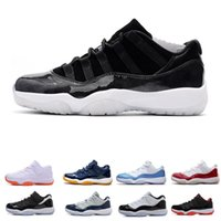 Wholesale baseball cap bowls - 11 Prom Night Cap and Gown Blackout Win Like 82 96 Gym red Chicago Midnight Navy Basketball shoes 11s Bred Space Jam Concords Sports Sneaker
