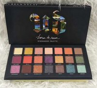 Wholesale make up shimmering eye shadow - 2018 makeup eyeshadow palettes eye shadow pallet 21color NUDE decay Makeup Palettes chocolate bar with Make up