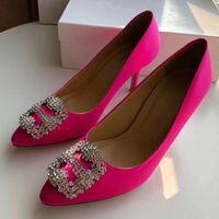 Wholesale Satin Beige Heels - italy brand Mercerized denim genuine wedding shoes silver Rhinestone High heels women's Shoe wedding bridal shoes WITH Box size35-40