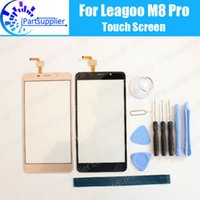 Wholesale M8 Pro - Leagoo M8 Pro Touch Screen Panel 100% Guarantee New Original Glass Panel Touch Screen Glass For Leagoo M8 Pro + Tools