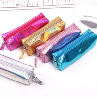 0beed90e91 Clear Pencil Cases Wholesale Online Shopping - Iridescent Laser PU Pencil  Case Clear Cute School Supplies