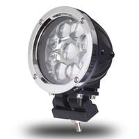 polegada rodada luzes de nevoeiro venda por atacado-5,5 Polegada Rodada 45 W LED Ponto de Luz de Trabalho Combo Para Offroad Máquinas 4WD ATV SUV Caminhão 4x4 Conduzindo Faróis de Nevoeiro Lâmpadas