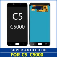 9fb0aeb45b262c 5.2'' SUPER AMOLED Display for SAMSUNG Galaxy C5 LCD C5000 Touch Screen  Digitizer Replacement Parts