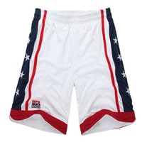 elastik şeritler toptan satış-Yeni 2018 yaz gevşek spor basketbol şort erkekler elastik bel İpli şerit nefes ABD Koşu Spor şort