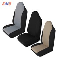 Wholesale automotive cushion - Universal Car Seat Cover Breathable Automotive Seat Covers Cushion Pad Protective Covers for Car Seats Car-styling