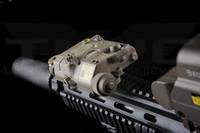 ingrosso luci laser a pistola-LA-5C PEQ UHP 15 Verde Lampada Laser IR Softair Torcia Elettrica per Caccia IPSC Tattico Armamento Airsoft Armi Fucile Luci