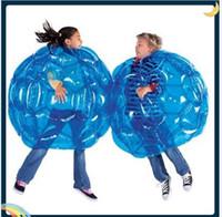 Wholesale bumper kids resale online - Inflatable toy Inflatable Body Bumper Ball PVC Air Bubble cm Outdoor Kids Game Bubble Buffer Balls Outdoor Activity