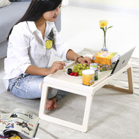 plástico da mesa do computador venda por atacado-Mesa do computador Multifuncional dobrável Mesa do Computador cama de plástico mesa preguiçosa mesa do computador cama mesa de aprendizagem mesa de jantar