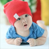 Wholesale infant easter hats for sale - Group buy Unisex New Born Baby Boy Girl Kawaii Cute Soft Cotton Beanie Hat Soft Toddler Infant Caps Baby Accessories