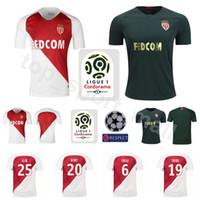 ee3ba300d Wholesale monaco jersey for sale - 18 Season Soccer AS Monaco FC Jersey Men  White BALDE