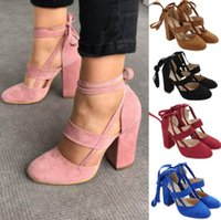 Wholesale sexy ribbon shoes - designer sandal sandalias woman fashion luxury sandals new sexy ladies Leather pink black High Heels Pumps Spring Summer stiletto shoes