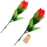 glühende lichtrosen großhandel-Leuchtende zauberrequisiten licht rosen valentinstag geschenk prop magia kids toys