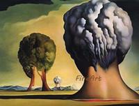 ingrosso artisti blu-famosi artisti tela pittura riproduzione salvador dali pittura murale pittura a olio blu tela pittura ad olio dipinti d'arte decorazione casa