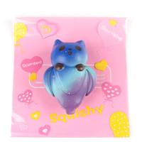 ingrosso ornamenti panda-Squishy Cute Starry Panda Cartoon Gift Soft Squishies Stress Ansia Riduttore Creativo Squeeze PU Toy Kawaii Home Ornament 14 5sza Y