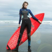 yüzme neopren kıyafeti toptan satış-1.5mm ince dalgıç elbisesi yüzen wetsuit açık sörf yüzme kadın