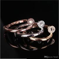 Wholesale Gold Nail Bangle - New nail couple bracelet European and American fashion screw nail iron nail bracelet bracelet